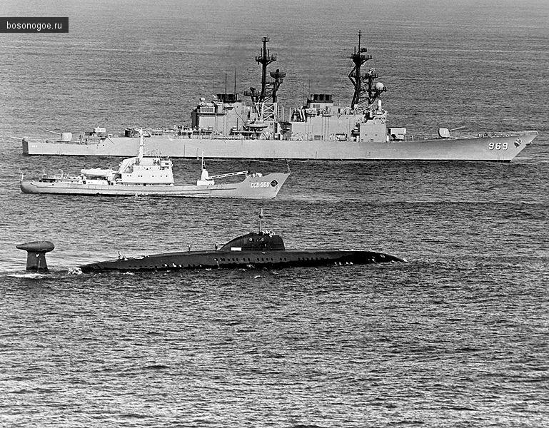 Подводная лодка К-324