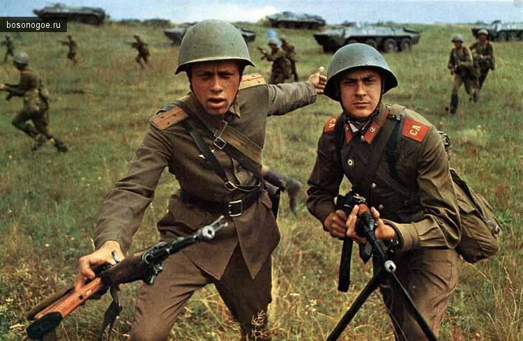 Учения войск прикарпатского военного округа