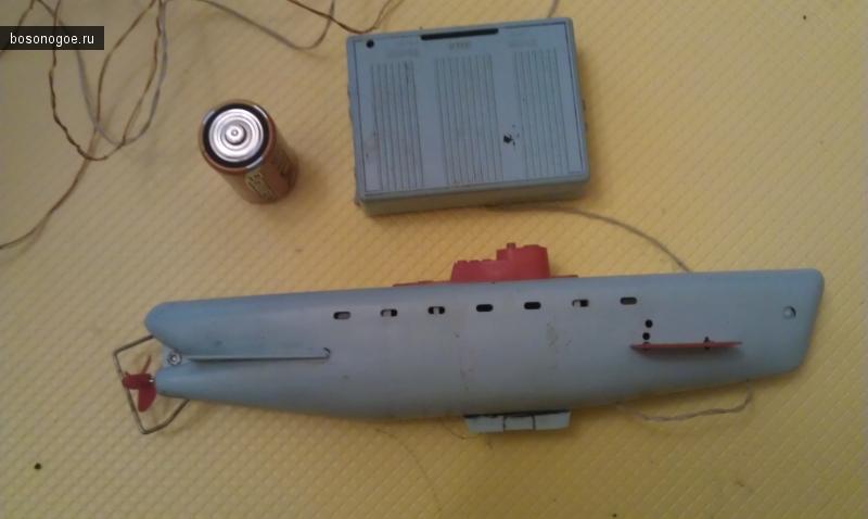 Советские игрушки. Подводная лодка.