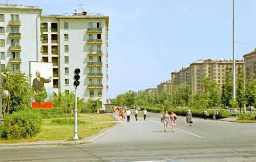 Фотографии Москвы 1968 год