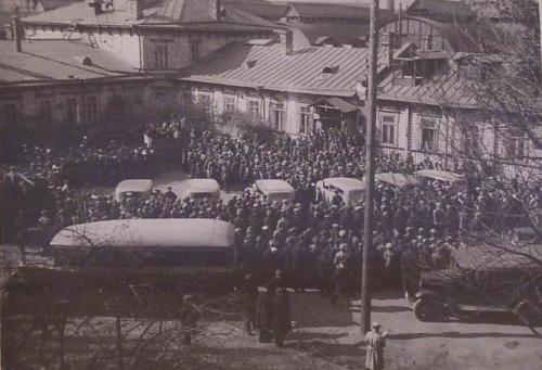 Советский автомобиль 1932 год Красный путиловец