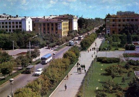 Советские фотографии города Тюмень СССР.