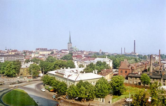 Фотографии советского Таллина 1972 год