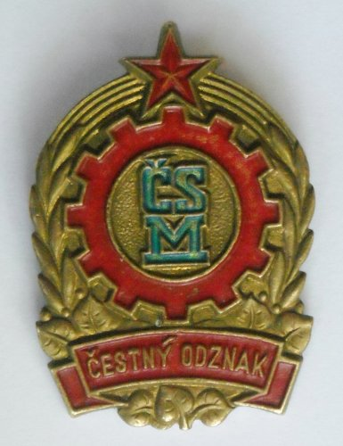 Комсомол Союз Молодёжи ЧССР