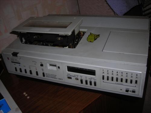 Советский видеомагинтофон.