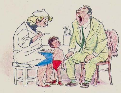 Рисунки из светлого советского детства