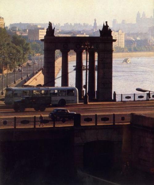 Советское фото, фото СССР. Московские зори.