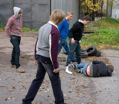 Избиение подростка