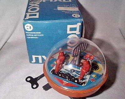 игрушка луноход ссср