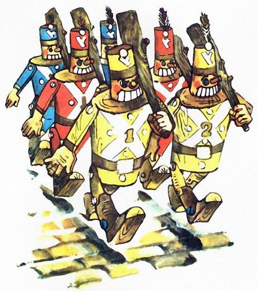 Урфин джюс и его деревянные солдаты книга картинки 7