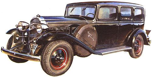 Красный путиловец советское авто.