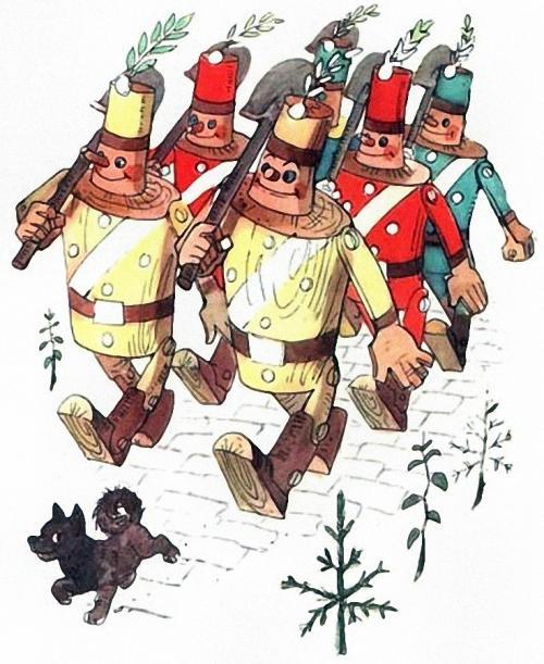 Урфин джюс и его деревянные солдаты книга картинки 4